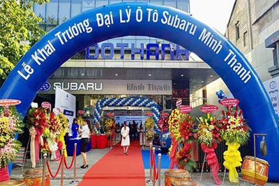 Khai trương xưởng dịch vụ hậu mãi Subaru Minh Thanh Phú Mỹ - Q.2